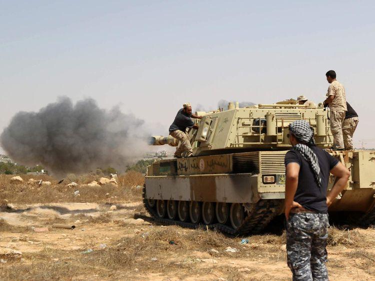 The battle for Sirte