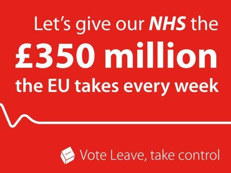 Vote Leave NHS Poster