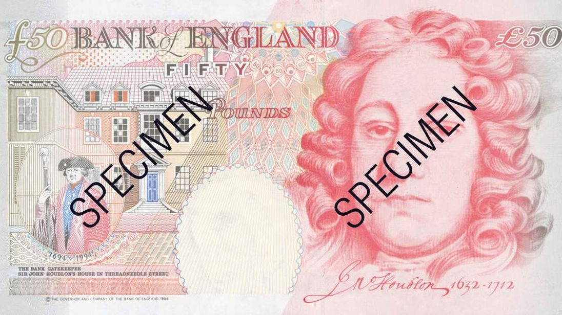 Old £50 Note