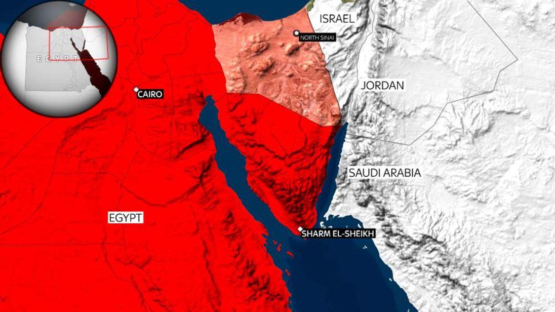 Egypt and North Sinai