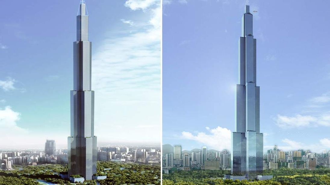 Chinese company Broad aims to build the world's tallest building in 90 days.