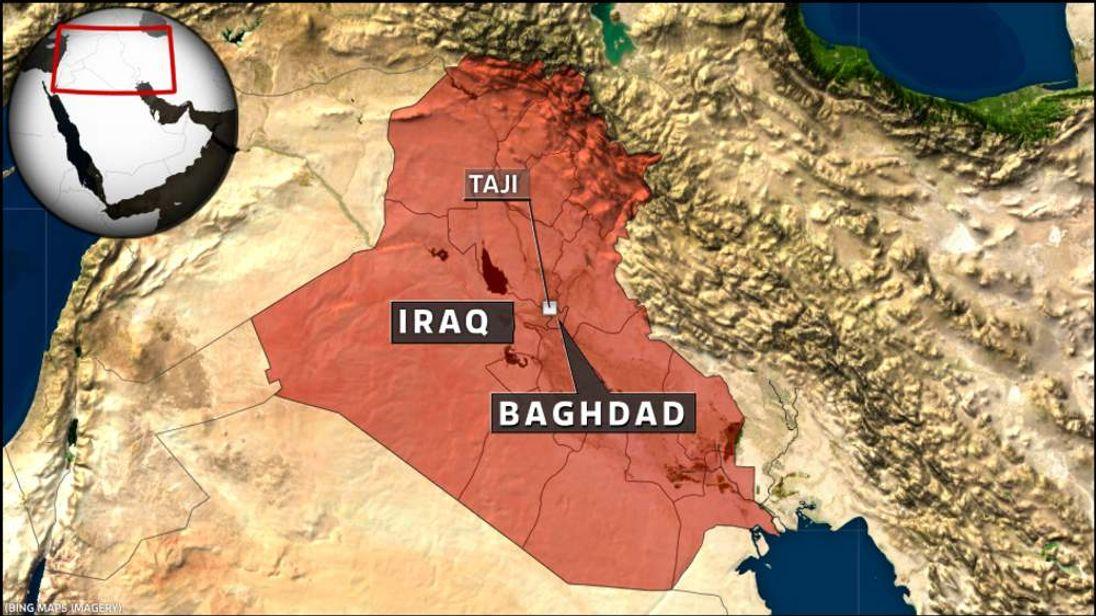 Car bomb in Taji, nar Baghdad, Iraq