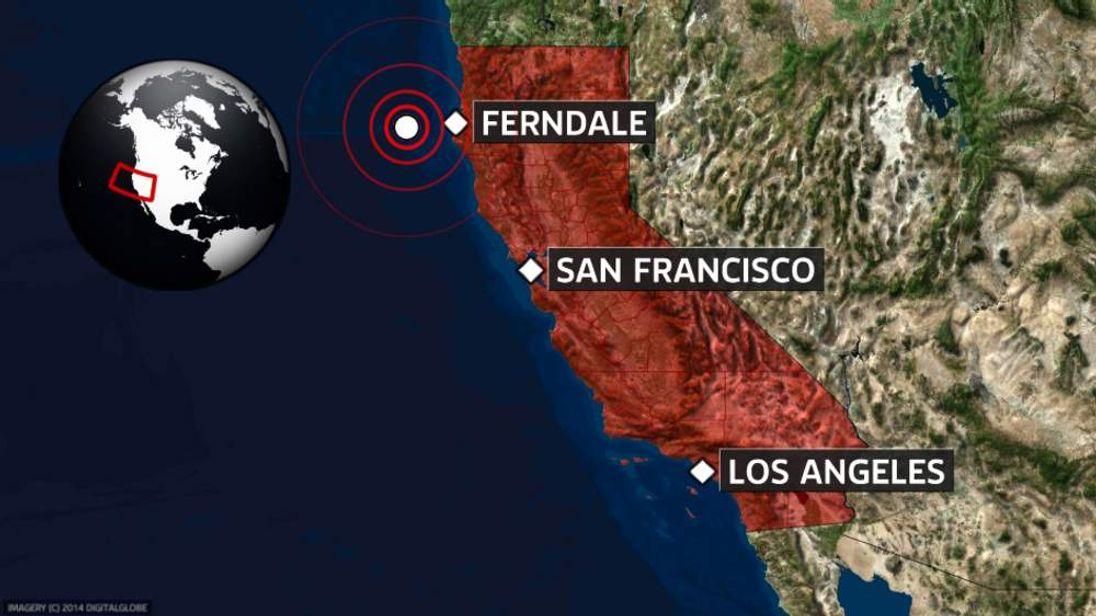 Californian earthquake.