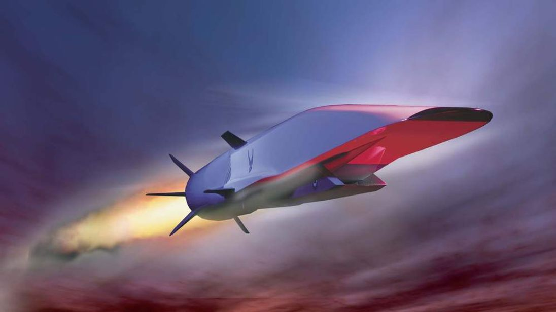 The X-51A Waverider is set to demonstrate hypersonic flight.