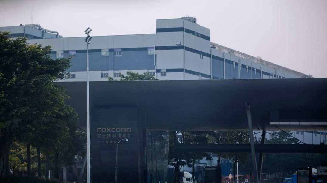 A Foxconn factory in Shenzhen, one of the world's fastest growing cities