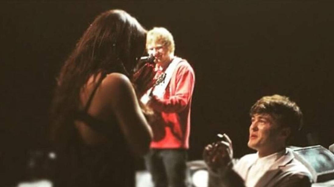 Rixton's Jake Roche proposes to Little Mix's Jesy Nelson