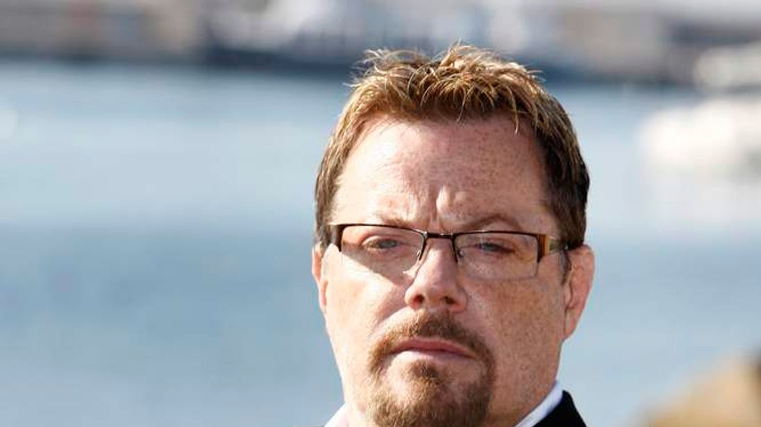 British stand-up comedian and actor Eddie Izzard