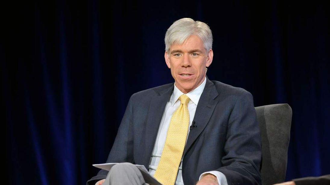 David Gregory, host of NBC's Meet The Press