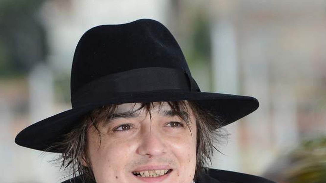 Pete Doherty May 2012