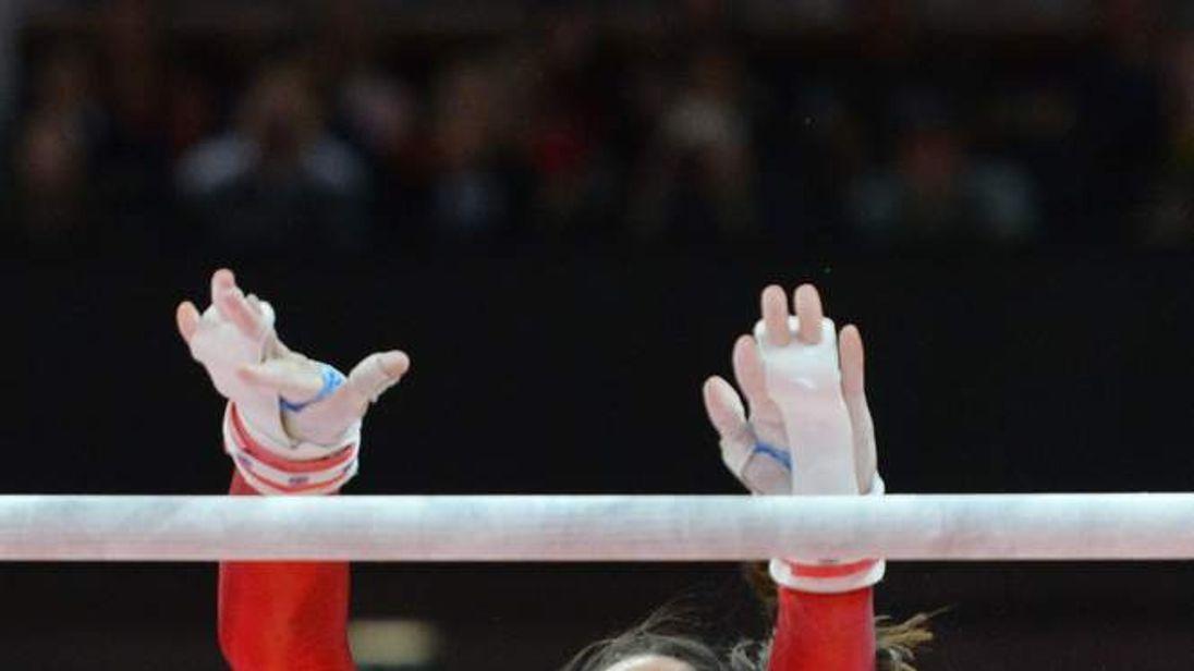Beth Tweddle bars London Olympics 2012