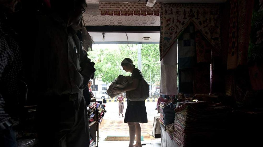 Power cut in New Delhi, India