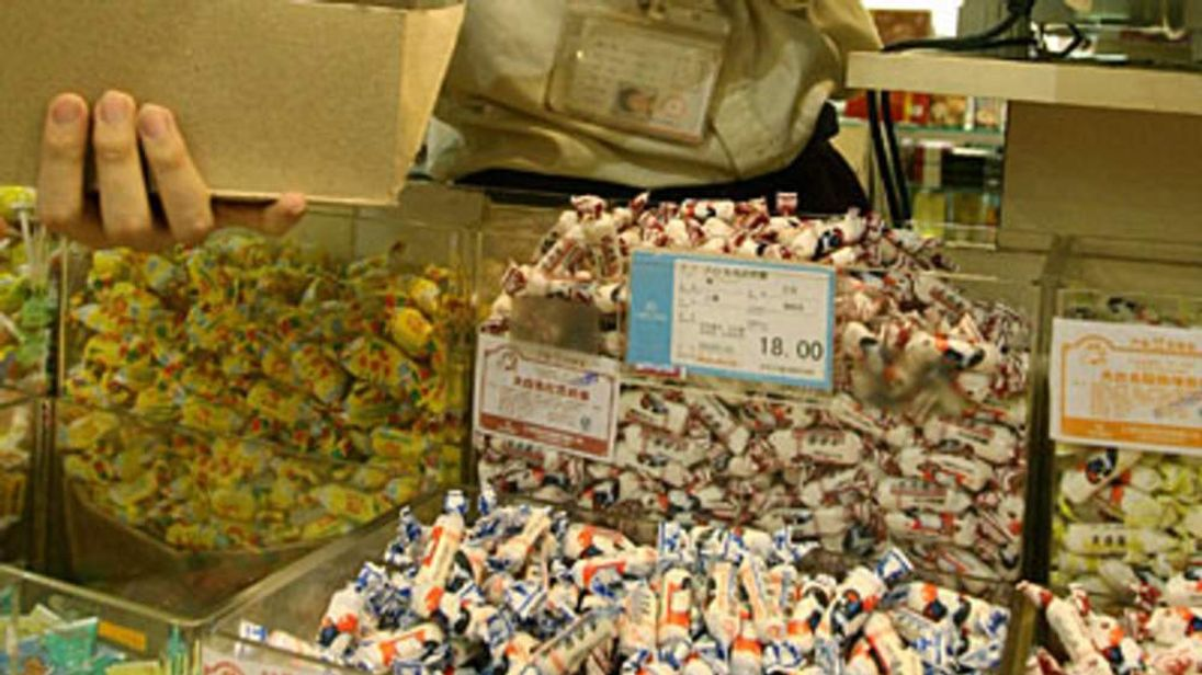 White Rabbit Candies on sale in China