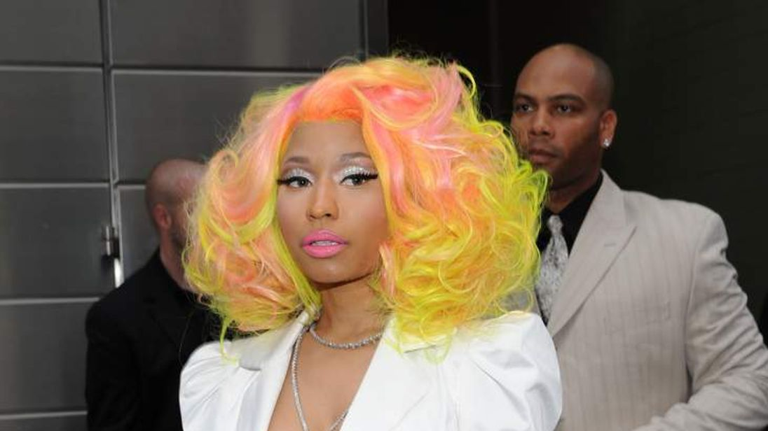 Nicki Minaj has joined the judging panel on American Idol