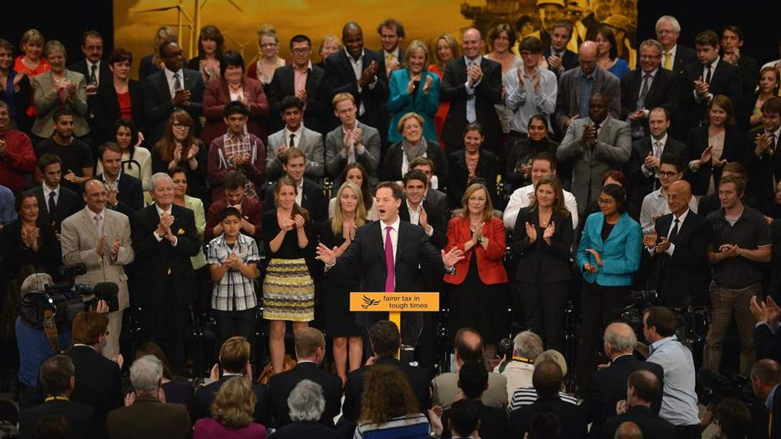 The Last Day Of The Liberal Democrat's Annual Party Conference