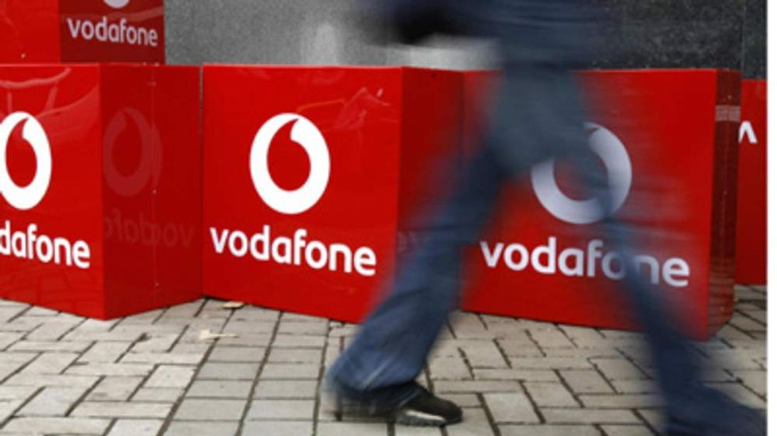 Vodafone Advert Sign