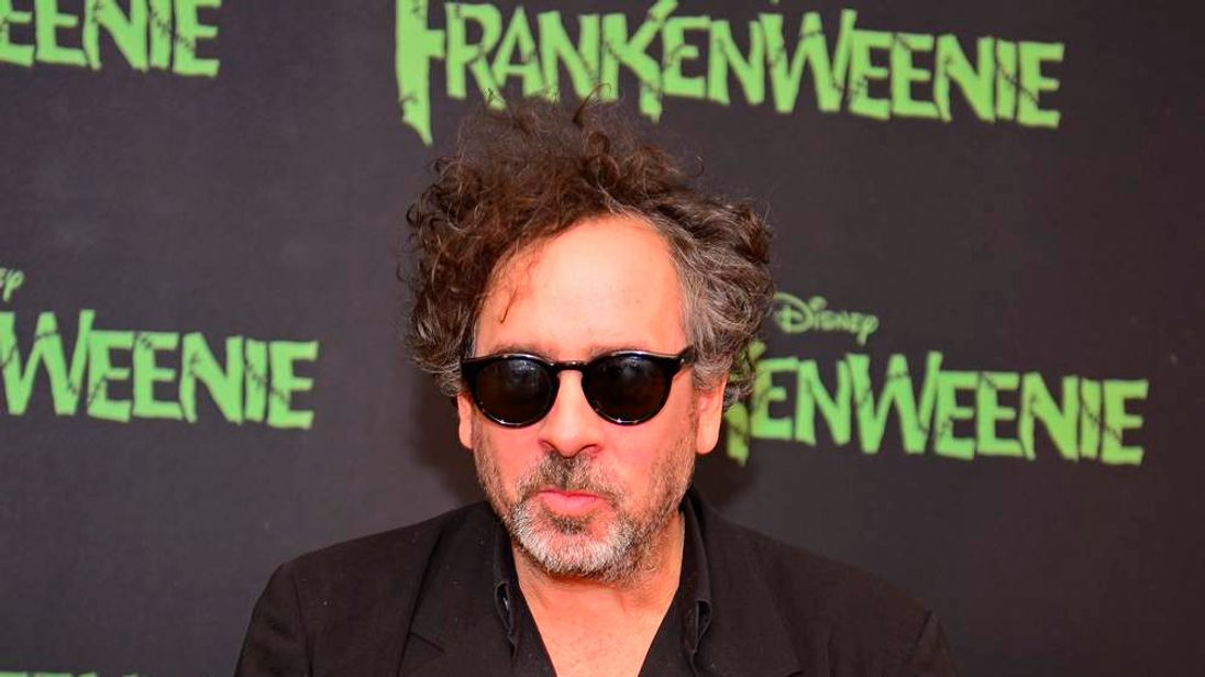 Tim Burton during a photocall to promote Frankenweenie