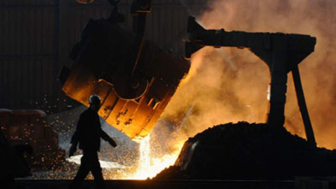 Steelworks in China