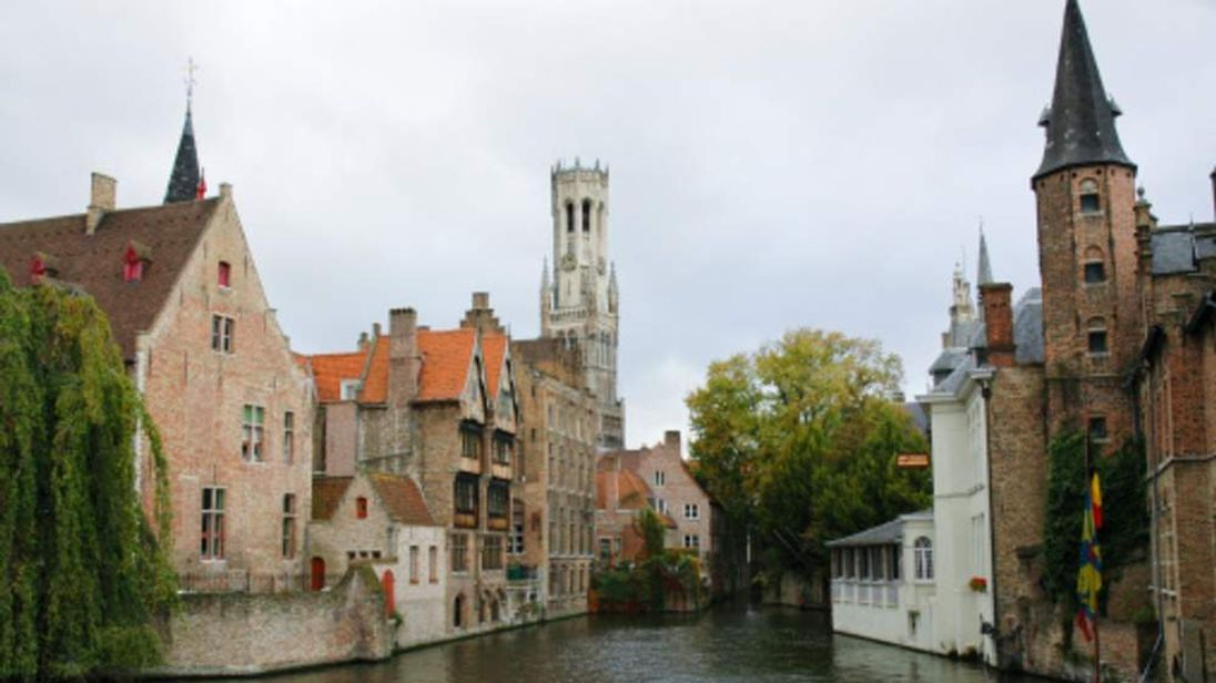 The medieval town of Bruges