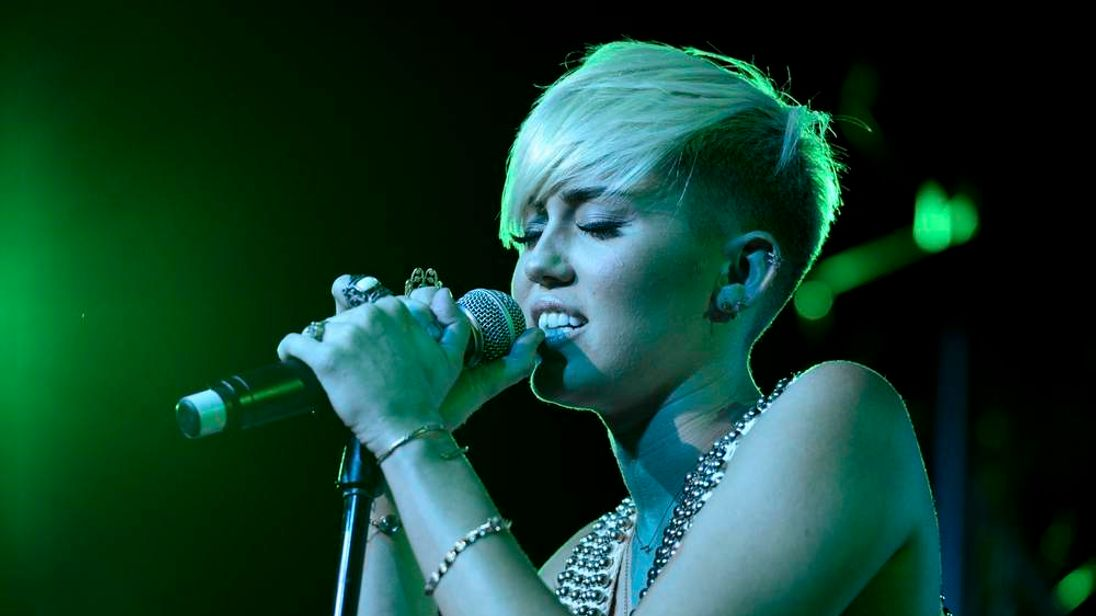 Miley Cyrus in October 2012