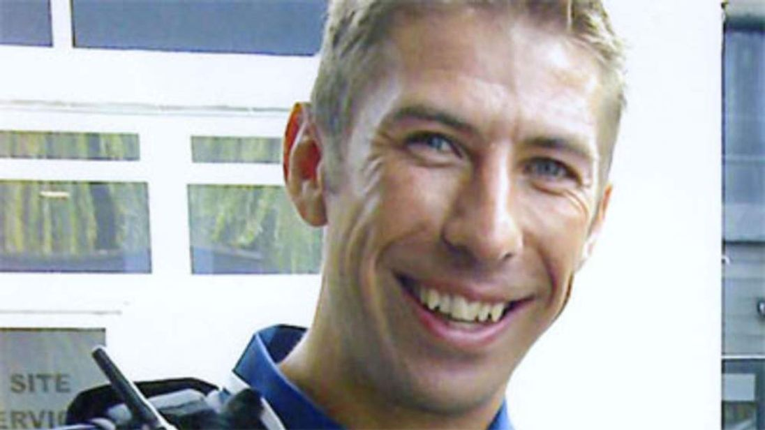 """PC Ian Terry who was shot dead during a """"cops and robbers"""" training exercise in Manchester."""