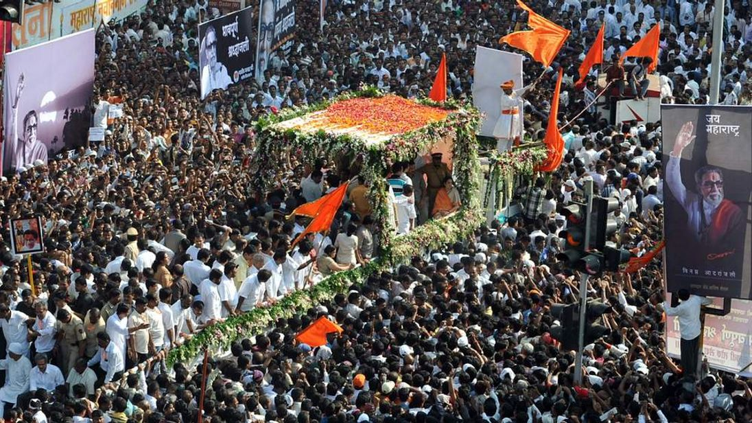 Funeral of Bal Thackeray