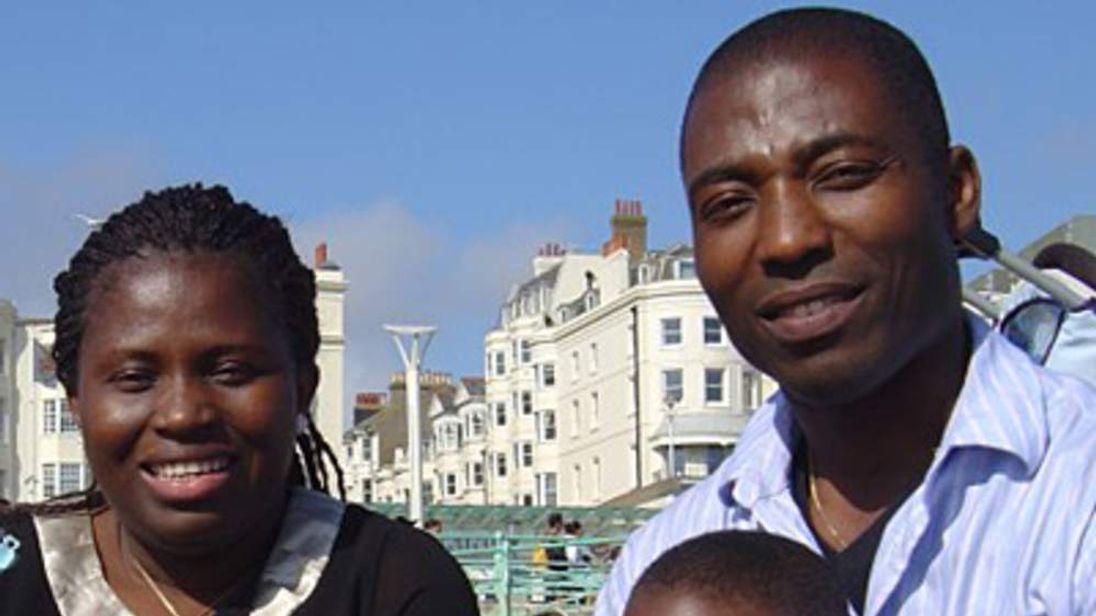 Angela and Benjamin Ihegboro