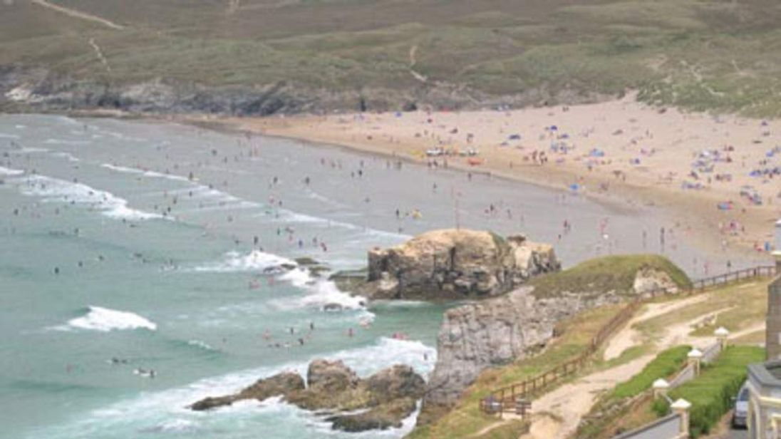 Perranporth Beach. Picture by Tony Atkin