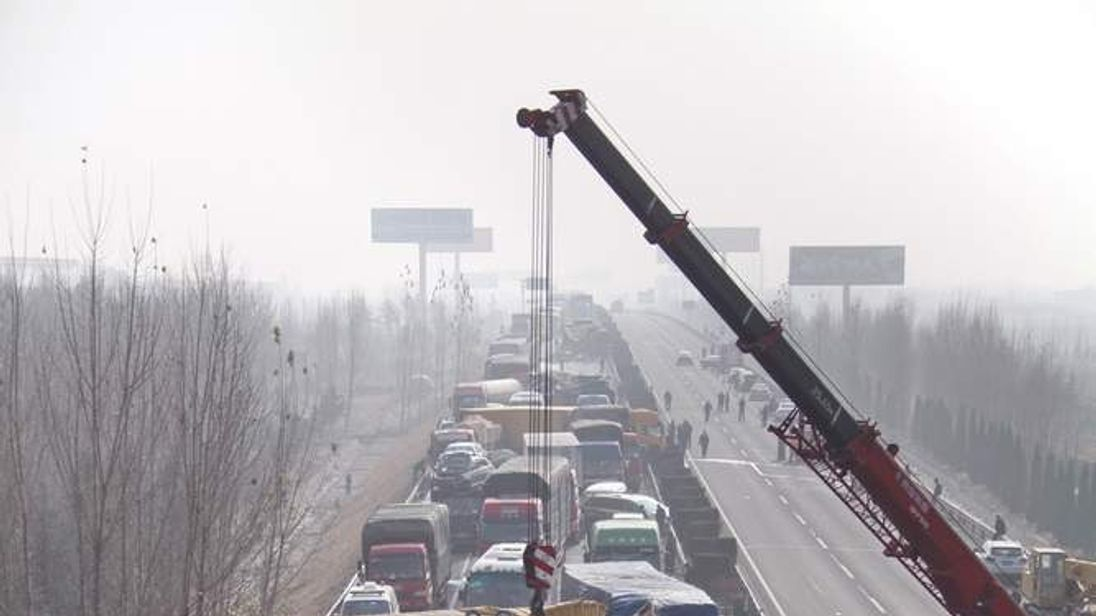 Seven Dead In Shandong Freeway Traffic Accident