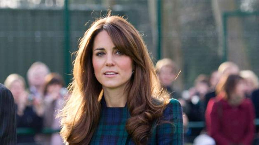 Catherine, Duchess of Cambridge Visits St Andrew's School
