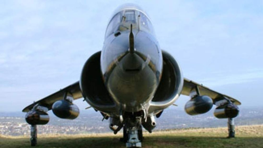 Harrier Jump Jet Goes On Sale On eBay