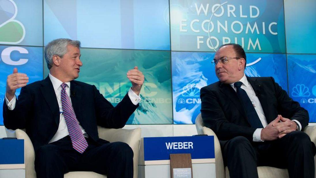 JP Morgan's Jamie Dimon at Davos
