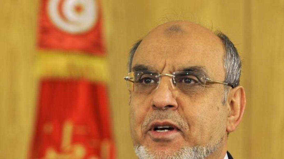 Tunisian prime minister Hamadi Jebali