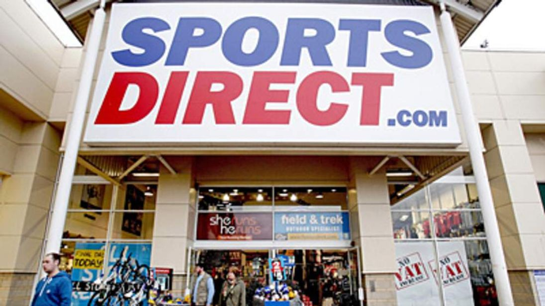 Sports Direct store front