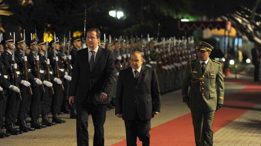 David Cameron Visits Algeria