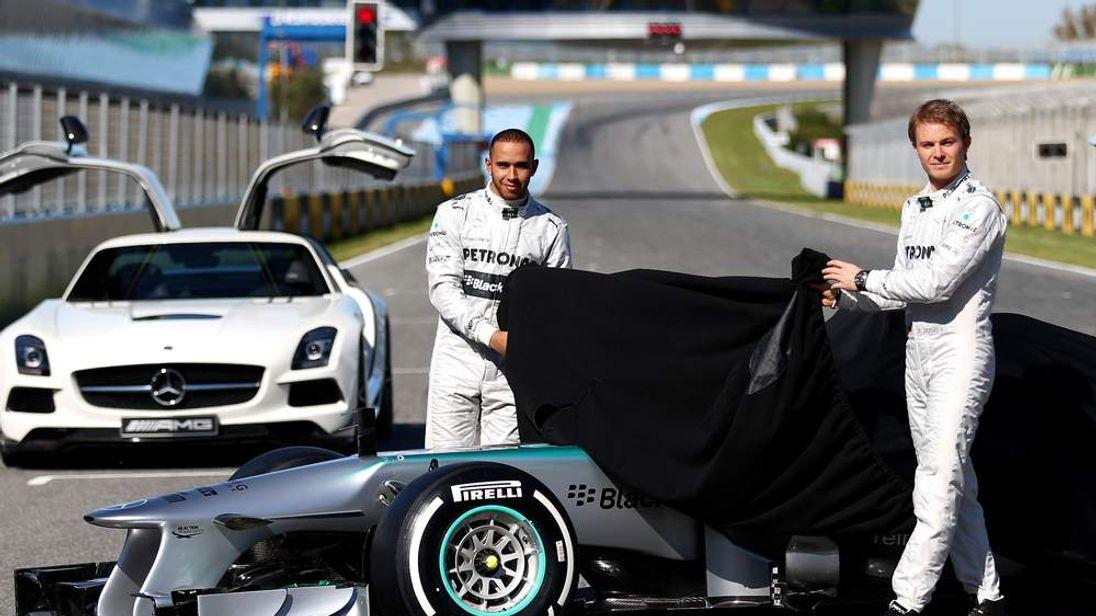 Mercedes GP F1  Launch
