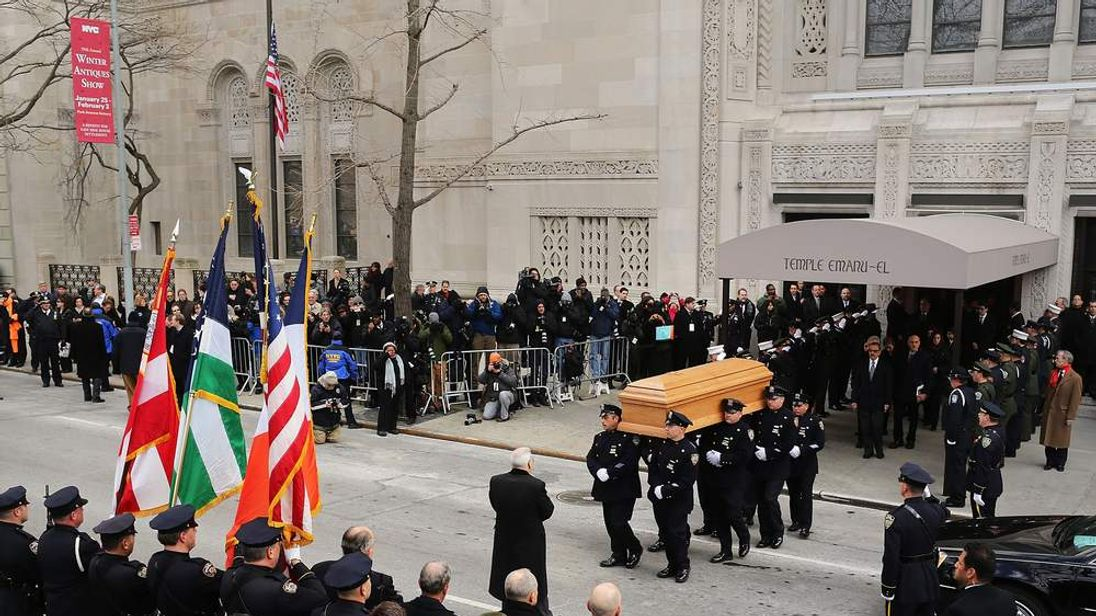 Funeral Held For Former NYC Mayor Ed Koch