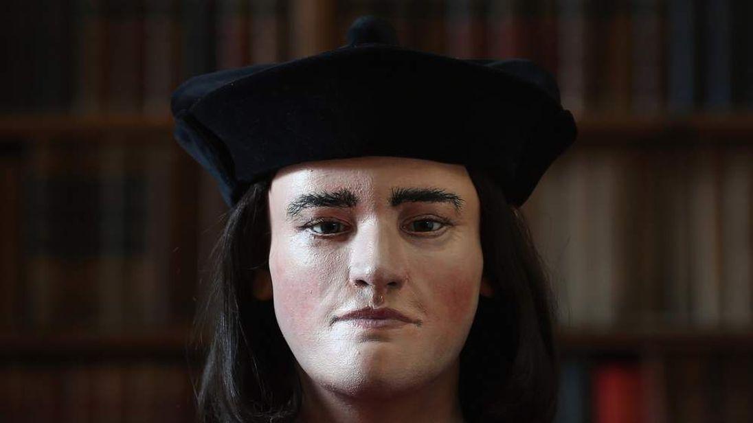 Richard III facial reconstruction