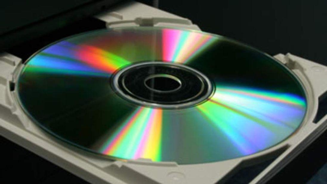 A blank CD