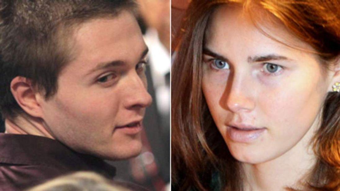 Raffaele Sollecito and Amanda Knox