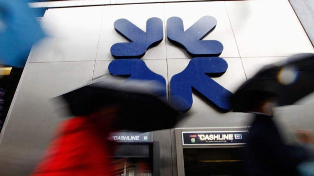 An RBS cashpoint in London