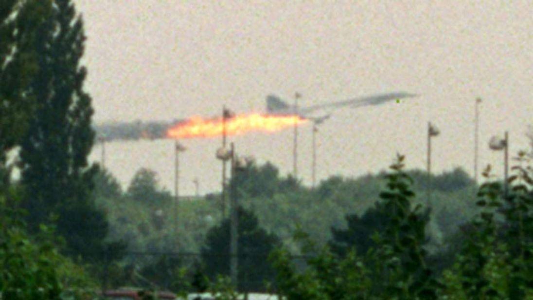 Concorde Crash In Paris June 2000