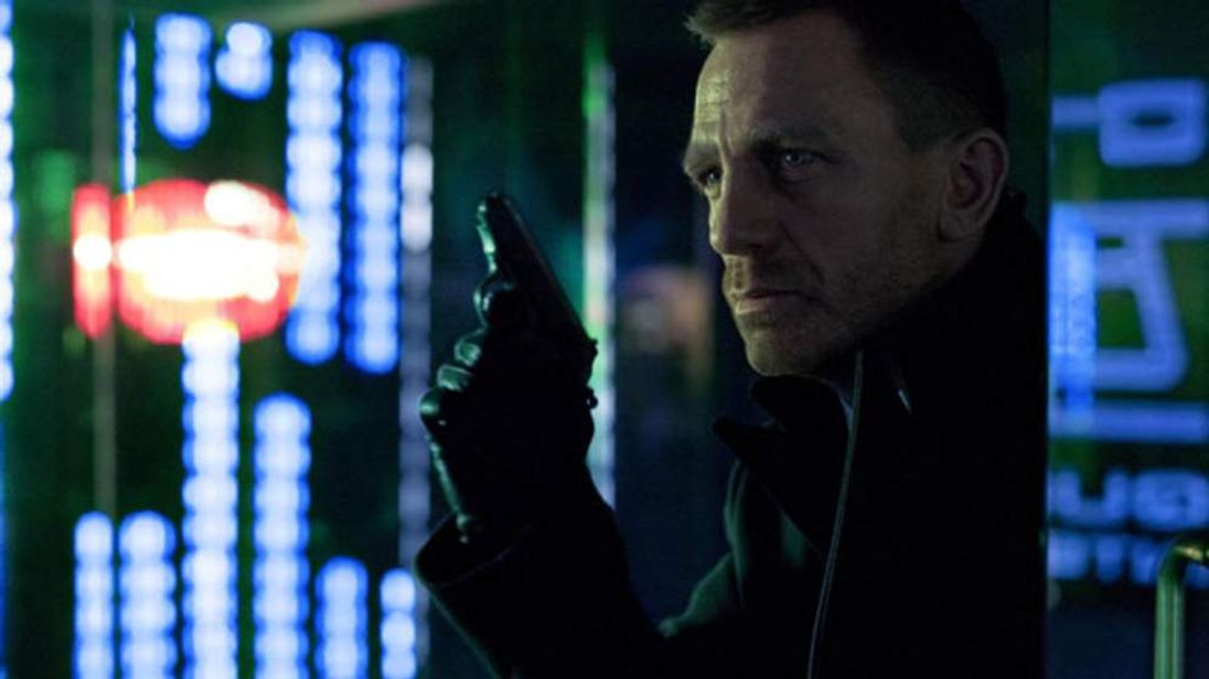 The first official photo of Daniel Craig as James Bond in the new Skyfall movie