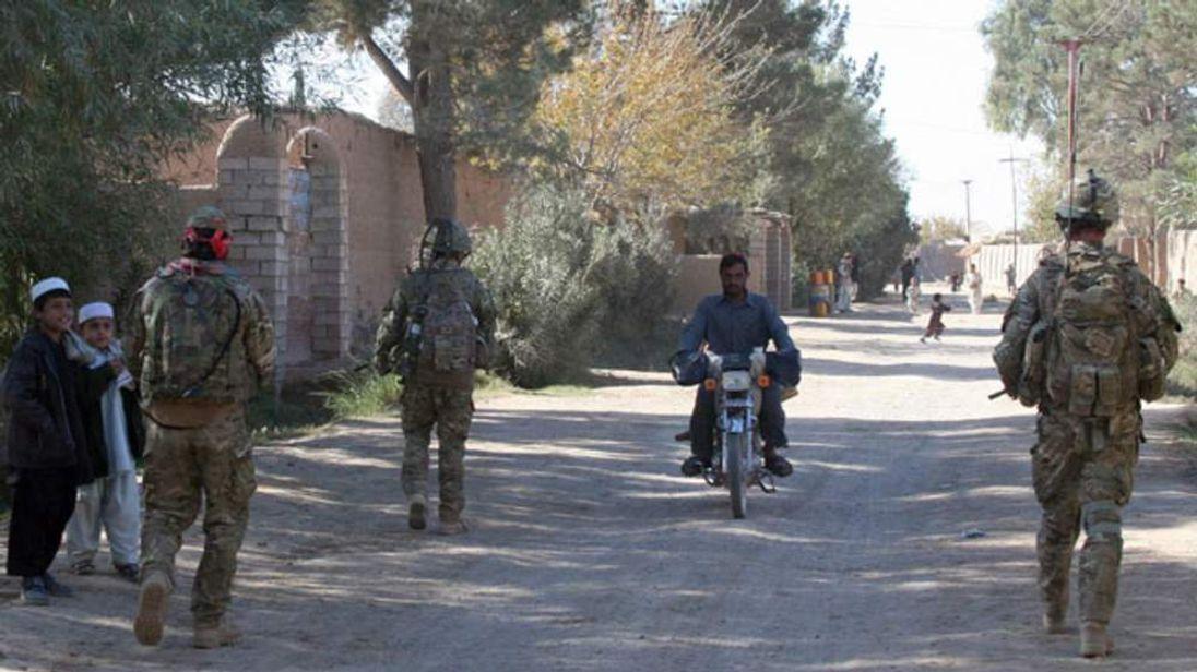 Troops in Helmand
