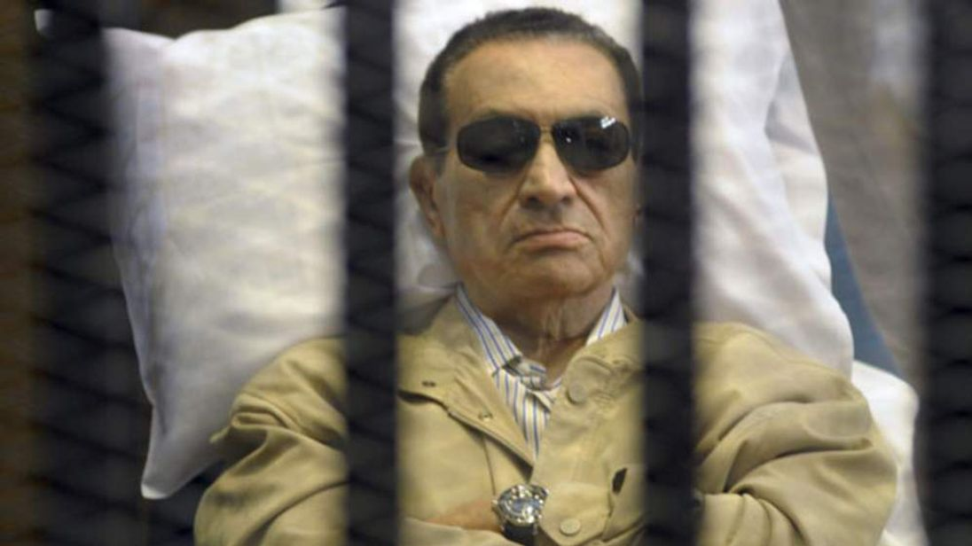 Mubarak was sentenced to life in prison.