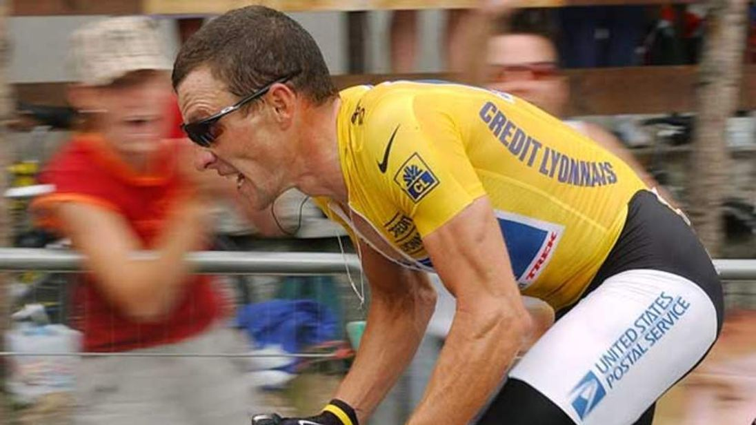 Armstrong was stripped of his record seven Tour de France titles