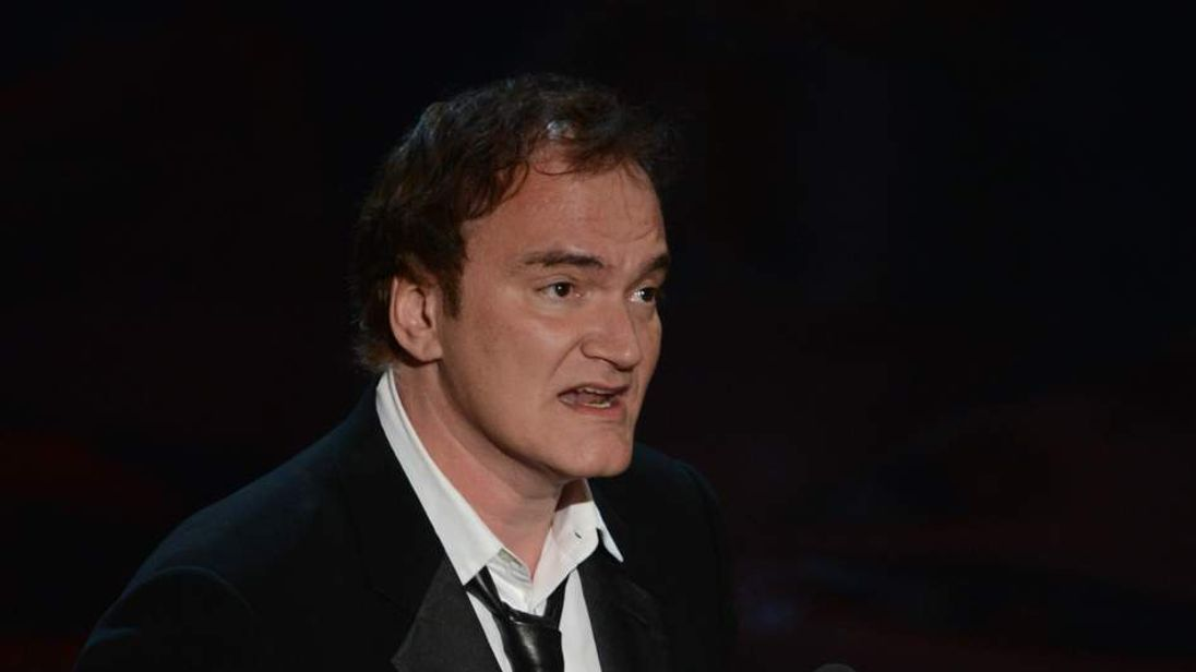 Best Original Screenplay winner Quentin Tarantino