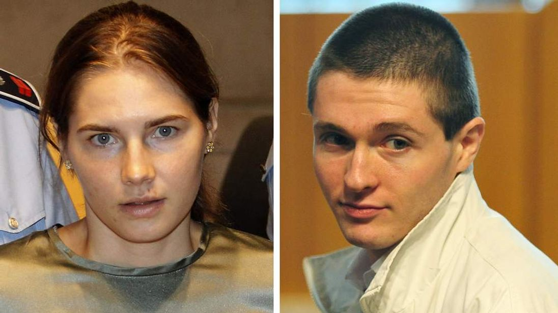 Amanda Knox and Raffaelle Sollecito