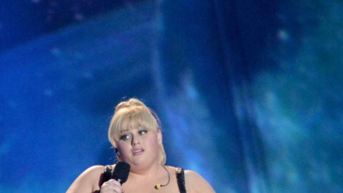 Pitch Perfect star Rebel Wilson co-hosted the 2013 MTV Movie Awards