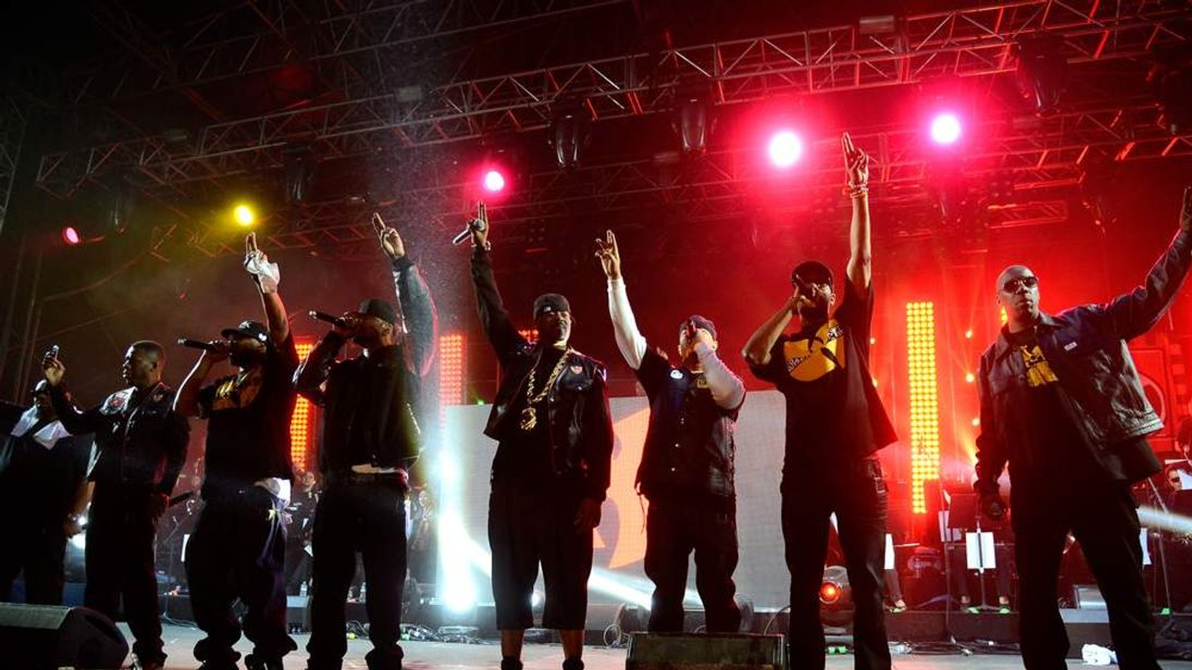 Wu Tang Clan at this year's Coachella Festival