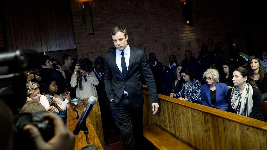 Oscar Pistorius trial hearing